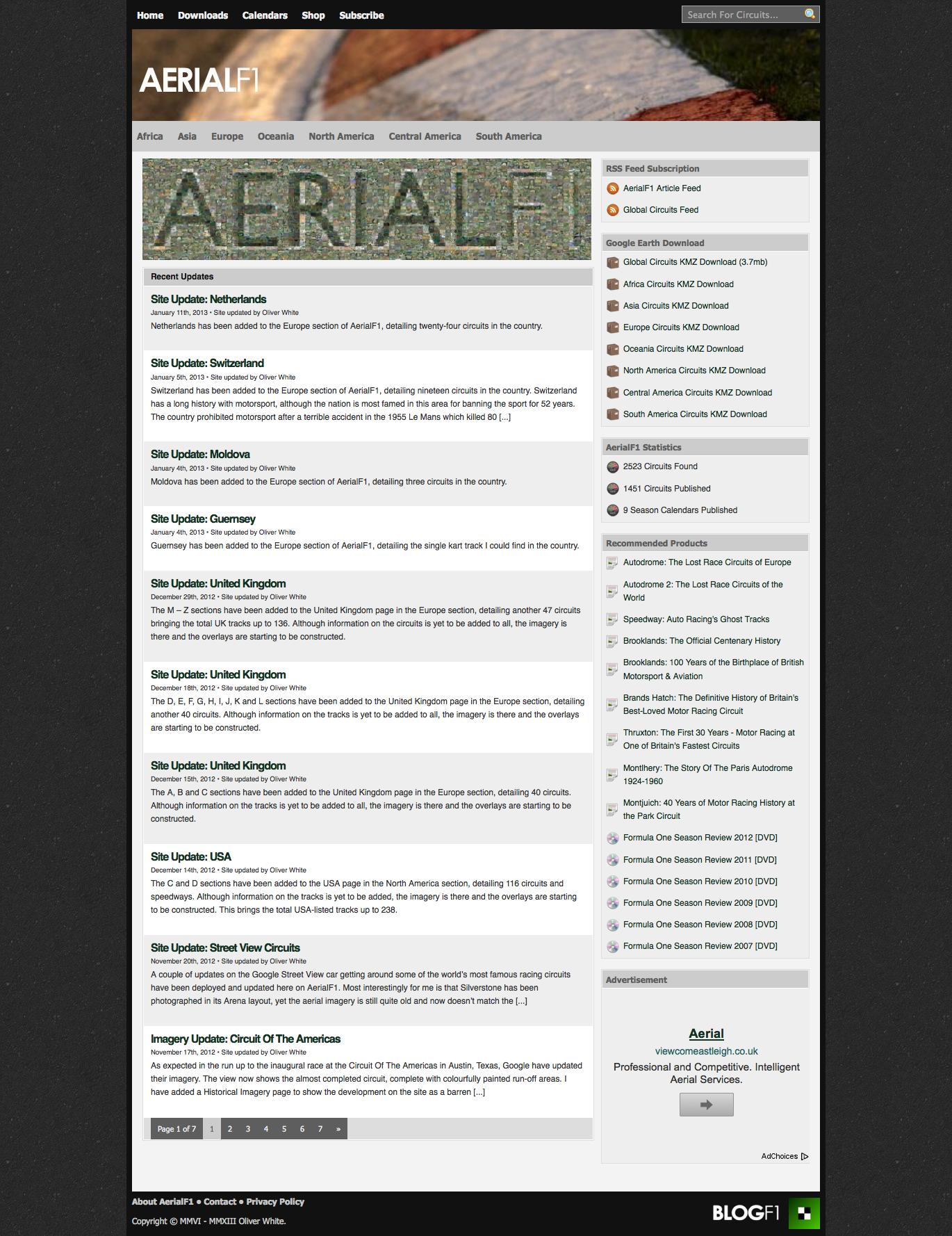 AerialF1 v1.0